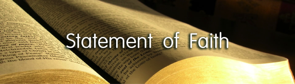 statement of personal commitment to christian faith The lawton christian school statement of faith is a commitment to the christian faith, which is central to the core values of the school we believe that men, divinely inspired by god, wrote the holy bible.