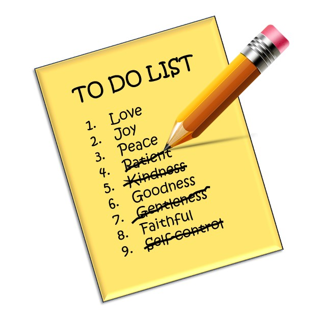 "The Fruit of the Spirit is Not a ""To-Do"" List"